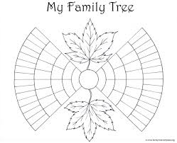 Blank Body Map Template by Family Tree Template Resources