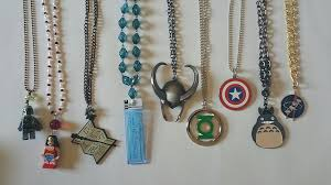 diy necklace images Diy how to make your own geeky necklaces from keychains geek jpg