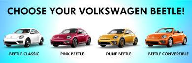 volkswagen beetle colors 2017 new 2017 volkswagen beetle classic pink beetle and dune beetle