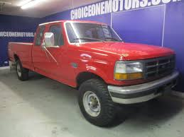 1996 used ford f 250 extra cab long bed 4x4 5 speed 7 3