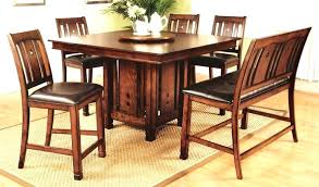 d55 tropical dining room sets counter height chairs table rustic
