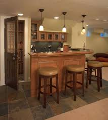bar in the basement home bar design