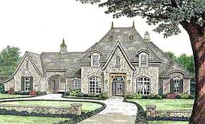 Country French Home Plans | french country house plan 4 bedrooms 3 bath 4182 sq ft plan 8 588
