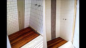 stylish ideas wood shower floor creative decoration diy removable