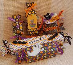 Candy Crafts For Halloween by Lynn U0027s Craft Blog Halloween Candy Boxes Made With A Paper Punch