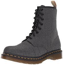 womens grey boots uk dr martens s vegan castel grey fashion boot black amazon