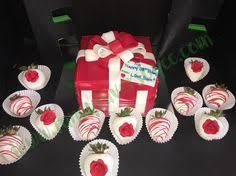 White Chocolate Covered Strawberry Box Red U0026 White Chocolate Covered Strawberries Fancyfavorsbycc Com