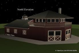 How To Build A Horse Barn In Minecraft Barn Plans 4 Stall Octagon Horse Barn Living Quarters Apartment