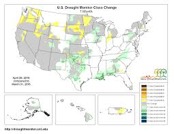 Map Of Us And Puerto Rico by Drought April 2015 State Of The Climate National Centers For