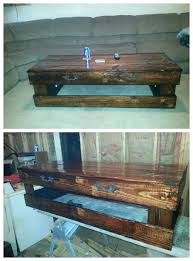 Coffee Table Out Of Pallets by 630 Best Pallets Tables Mesas De Palets Images On Pinterest