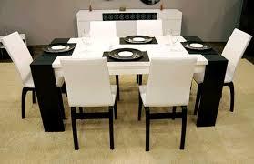 modern black table modern black dining table modern black and white dining table