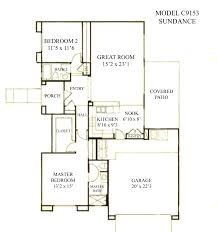floor plans bungalow floor plans arizona homes zone