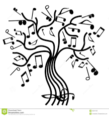 musical tree vector royalty free stock photos image 30261168