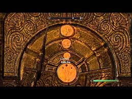 skyrim forbidden legend reachwater rock puzzle doors youtube