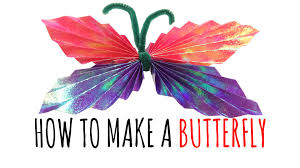 butterfly diy butterfly learn how to make butterfly kids art