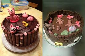 Nailed It Meme - friends take on the piglets in mud cake nailed it meme guy