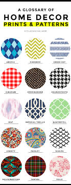 home decor patterns common home decor prints and patterns a complete glossary