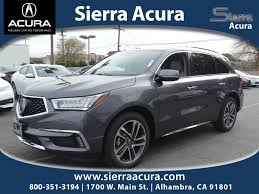 suv acura acura mdx in alhambra ca sierra acura of alhambra