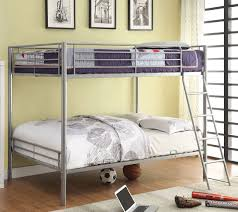 Columbia Full Over Full Bunk Bed by Metal Bunk Beds Full Over Full Bed With Queen Size Bed On Bottom