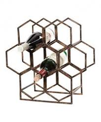 bronze wine rack foter