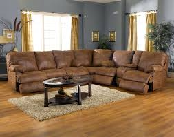 Best Reclining Sofas by Reclining Sectional Sofa Fabric Nina Leather Reviews Recliner With