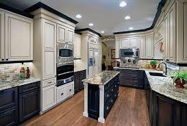 two color kitchen cabinet ideas kitchen before liquidators diy painters kit custom overland lowest