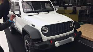 2018 jeep wrangler redesign rejected 2018 jeep wrangler design motor1 com photos