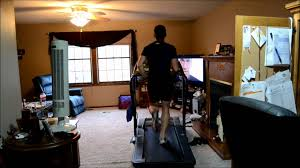 treadmill in living room 8 min and 5k pace treadmill youtube