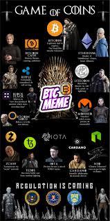 Meme Coins - of coins game of thrones bitcoin meme