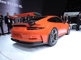 porsche gt3 rs orange porsche gt3 rs revealed as fastest 911 yet autoguide com news