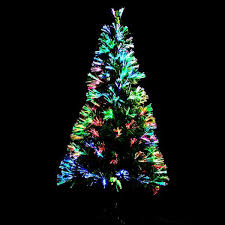 stylish decoration fibre optic christmas trees fiber tree home