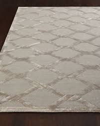 Modern Wool Area Rugs Contemporary Area Rugs 9 X 12 Square Grey Parallelogram Trellis