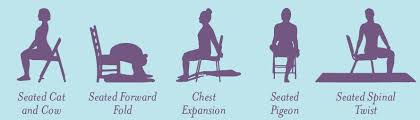 Chair Yoga Poses Seniors Yoga Archives Work To Become Flexible And Strong