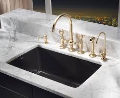 bring parisian flair to the kitchen kbis pressroom sink bridge