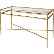 Safavieh Console Table Safavieh Couture High Line Collection Baumgarten Antique Gold Gilt