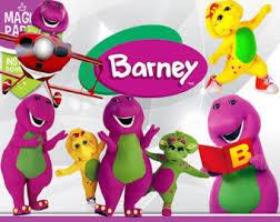 barney friends etsy