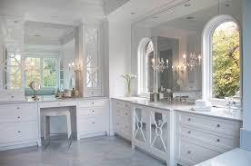 white bathroom vanity mirrors