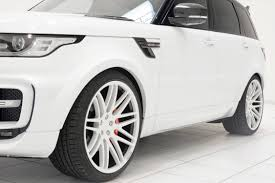 land rover white black rims range rover sport 2014 tuning startech startech refinement
