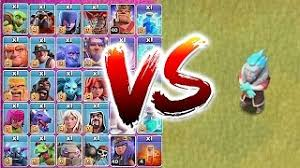 clash of clans all troops et télécharger all troops vs ice wizard troll to death