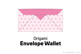 how to fold an envelope make an easy origami envelope wallet