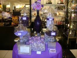 purple and white wedding 35 purple and white wedding candy buffet ideas table decorating