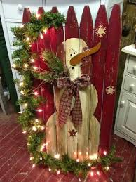 Christmas Wood Projects Pinterest by Best 25 Picket Fence Crafts Ideas On Pinterest Picket Fence