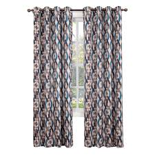 Bristol Curtains Stone Nova Pattern Window Curtain Panel 84 In At Home At Home