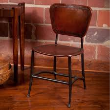 Leather And Metal Rustic Dining Chairs Dining Rooms Wondrous Rustic Dining Chairs Design Rustic Dining