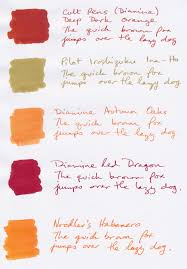 ina thanksgiving the inks of autumn u2014 gorgeous ink