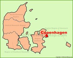 Copenhagen Map Copenhagen Maps Denmark Maps Of Copenhagen