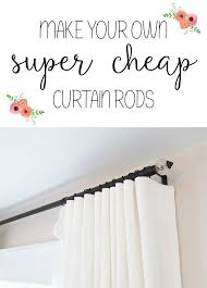 Corner Curtain Bracket Best 25 Cheap Curtain Rods Ideas On Pinterest Cheap Curtains