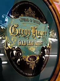 gregg heger reverse glass sign david smith traditional