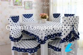 table linen wholesale suppliers dot design cotton dining tablecloth and chair cover set wholesale
