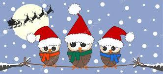 merry christmas owl owls family u2014 stock vector popocorn 7986860